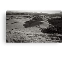 Rolling Hills, Topaz Canvas Print