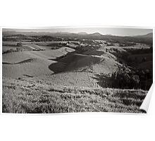 Rolling Hills, Topaz Poster