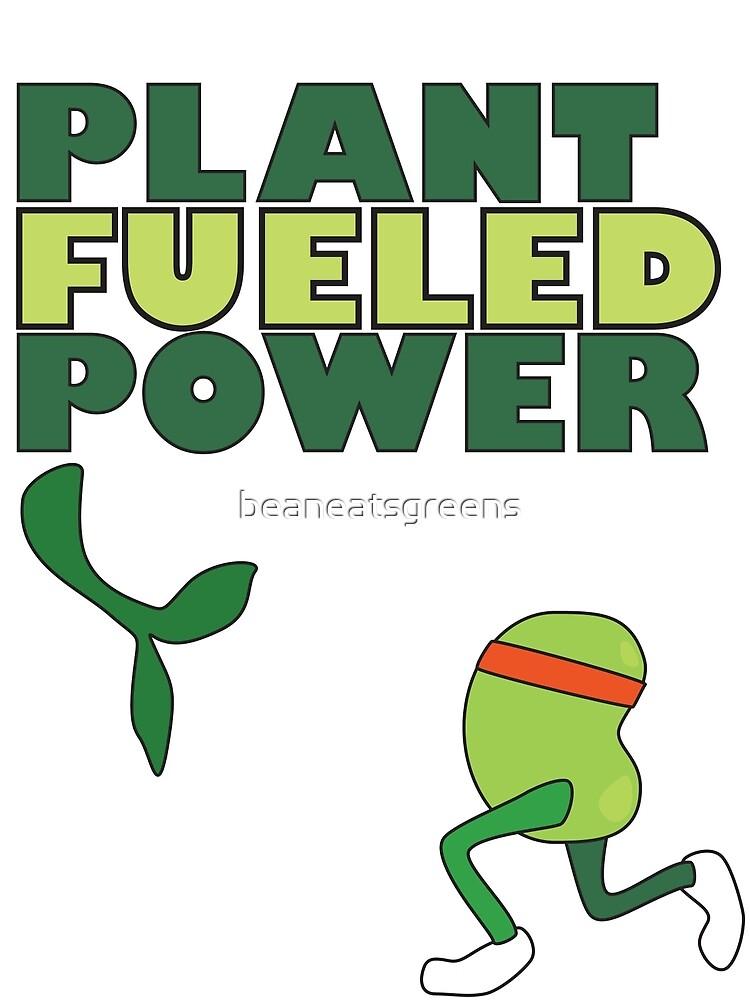 Runner Bean - Plant Fueled Power by beaneatsgreens