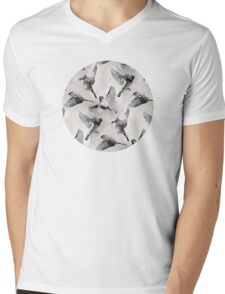 Sparrow Flight - monochrome Mens V-Neck T-Shirt