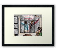 Hannibal - It's man devouring man, my dear Framed Print