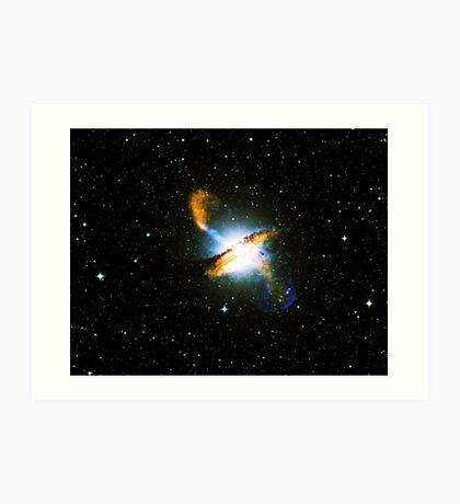 Centaurus A Triangle | Fresh Universe Art Print