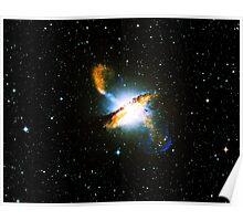 Centaurus A Triangle | Fresh Universe Poster