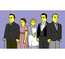 Downton Abbey - Downstairs Five Photographic Print