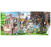 Studio Ghibli Poster