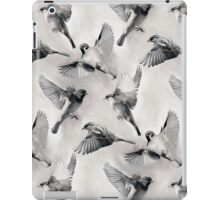 Sparrow Flight - monochrome iPad Case/Skin