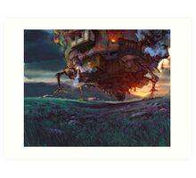 Howl's Moving Castle Art Print
