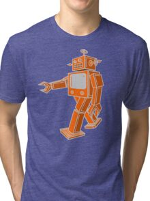 Robot Walk Tri-blend T-Shirt