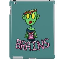 Zombie Eating Brains iPad Case/Skin