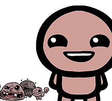 The Binding of isaac by Ryanwarrick