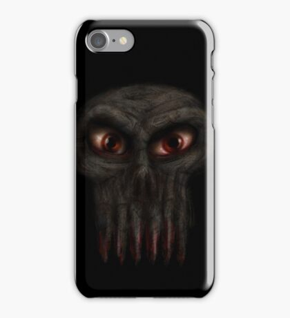 Hungry Undead Skull iPhone Case/Skin