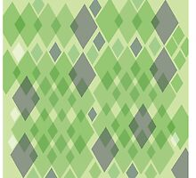 Snakeskin pattern in green by jazzydevil