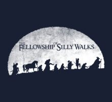 The Fellowship of Silly Walks Kids Tee