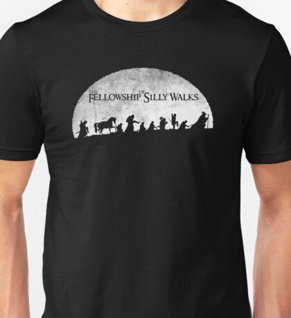 The Fellowship of Silly Walks Unisex T-Shirt