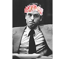 Ted Bundy Flower crown collection. Photographic Print