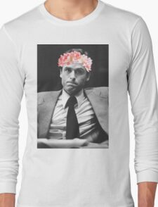 Ted Bundy Flower crown collection. Long Sleeve T-Shirt