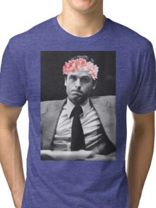 Ted Bundy Flower crown collection. Tri-blend T-Shirt