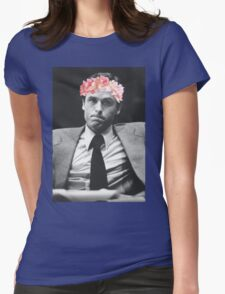 Ted Bundy Flower crown collection. Womens Fitted T-Shirt