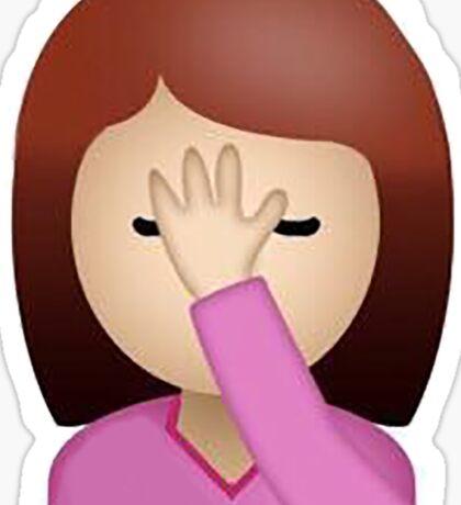 Facepalm Emoji Sticker