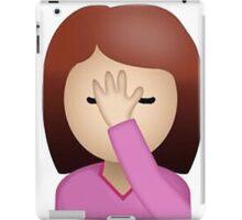 Facepalm Emoji iPad Case/Skin