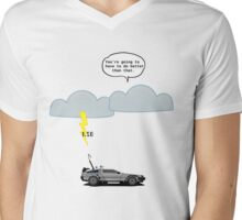 Back to the Future - 1.21 GW Mens V-Neck T-Shirt