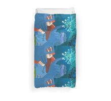 Nausea of the Valley of the Wind Duvet Cover