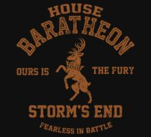 Team Baratheon (Gold) by Digital Phoenix Design