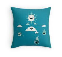 Mobile Weather Throw Pillow