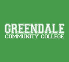 GREENDALE College Jersey (white) Baby Tee