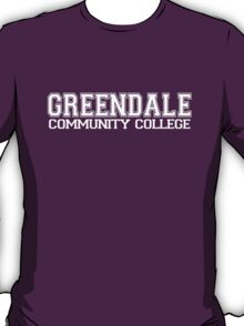 GREENDALE College Jersey (white) T-Shirt