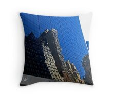 Near the Plaza Hotel NYC               0086 Throw Pillow