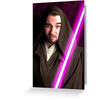 Jedi Jev Greeting Card