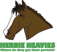 Herbie Heavies: Horse by beaneatsgreens
