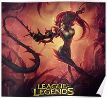 LEAGUE OF LEGENDS ZYRA Poster