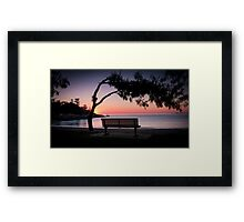 Missing You - Alma Bay Framed Print
