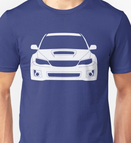 Full Frontal Tee - Subaru Impreza WRX STI 08 - 12 Apparel Design  Unisex T-Shirt