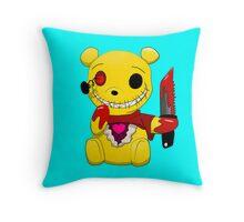 Winnie the killer pillow Throw Pillow