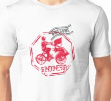 Becak, Indonesian Traditional public transport Unisex T-Shirt