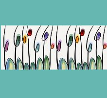 Abstract art tulips by goanna