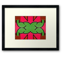 ABSTRACT 814 Framed Print