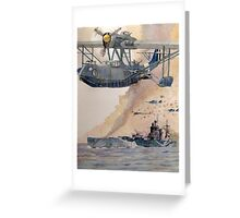 HMS Nelson Greeting Card