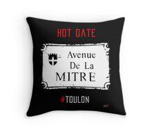 Toulon city Mitre forever Throw Pillow