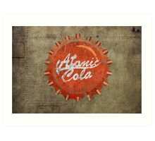 Atomic Cola Art Print