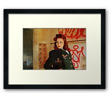 Atomic Graffiti Framed Print