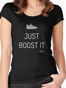 YZY - Boost 350 Women's Fitted Scoop T-Shirt