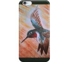 Peet The Humming Bird iPhone Case/Skin