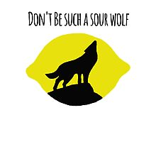 Sour Wolf Photographic Print