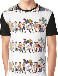 Team Ghibli - Studio Ghibli Graphic T-Shirt