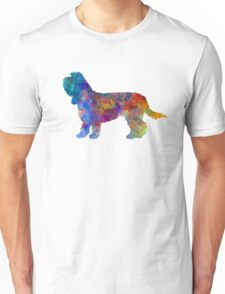 Grand Basset Griffon Vendeen in watercolor Unisex T-Shirt
