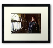 Wasteland Window Framed Print